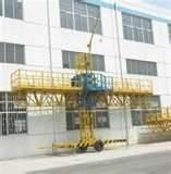 Wholesale High efficiency climbing work platform, Construction Platform for exterior components from china suppliers