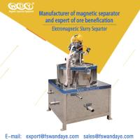 Wholesale Low Energy Consumption Gold Magnetic Separator Machine 380V 5 - 10 m³/h ceramic slurry from china suppliers