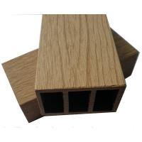 Wholesale 70x40mm Wood Plastic Composite Hollow WPC Post for Railing from china suppliers