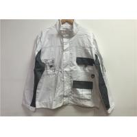 Wholesale Unisex White Custom Working Clothes , Safety Work Clothing For Airport Workers from china suppliers
