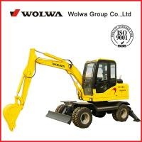 Wholesale DLS865-9A 5.8T wheeled hydraulic excavator from china suppliers