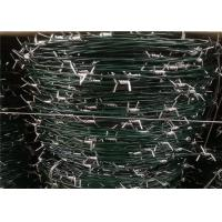 "Wholesale 4"" PVC Coated Security Barbed Wire With Main Wire Galvanized To Austrialia from china suppliers"