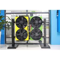 Quality 210HP engine 90KW heat rejection power 10M  bus electric  engine cooling system for sale