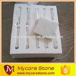 Wholesale Carrara White Marble Drink Coaster from china suppliers