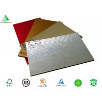 Wholesale Decorative interior aluminium sheet faced mdf wall board from china suppliers