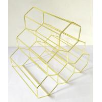 Buy cheap China manufacturer hight quality metal wine rack used in home or bar and wine holder from wholesalers