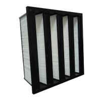 Wholesale Ventilation System Rigid Absolute Mini Pleat V Bank Filters High Performance from china suppliers