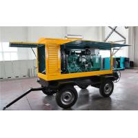 Wholesale Cummins 300 KW Trailer Mounted Diesel Generator Electric Statring Water Cooling from china suppliers