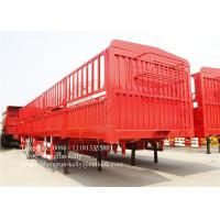 Wholesale 3 Axles side wall open board semi trailer for container transport from china suppliers