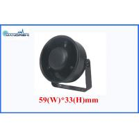 Wholesale Black 6V 12V 24V Piezo Alarm Waterproof , Siren 105dB Motorcycle Siren from china suppliers
