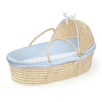 Wholesale Furry Dot Hooded Moses Basket from china suppliers