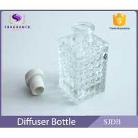 Wholesale Cylinder Clear Empty Aroma Reed Diffuser Perfume With Cork Stopper from china suppliers