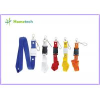 Wholesale Customize Purple Lanyard USB Flash Drives Plastic for Windows Vista from china suppliers