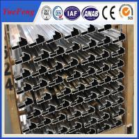Wholesale CNC/drilling/bended/OEM extruded aluminum profiles prices,aluminium profile system from china suppliers