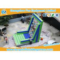 Wholesale Customized Inflatable Sport Games , Rocky Mountain Deluxe Inflatable Climbing Wall from china suppliers