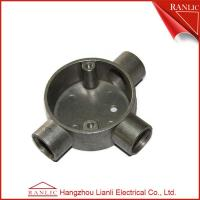 Wholesale Aluminum EMT / IMC Conduit Junction Box Three Way Pipe Fitting Customized , ISO9001 from china suppliers