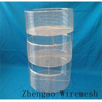 Wholesale produce Zhengao hospital stainless steel wire basket from china suppliers