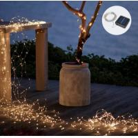 Quality Solar power IP65 led copper wire string for sale