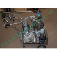 Wholesale Portable Mobile Milking Machine Farm Trolley , bucket milking machine from china suppliers
