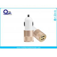 Buy cheap Mobile Phone Dual Port USB Car Charger adapter / iPhone 7 Samsung Xiaomi Usb Phone Charger from wholesalers