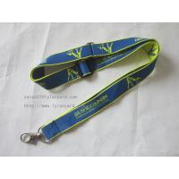 Wholesale ID Card Single Jacquard Logo Lanyard from china suppliers