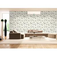 Wholesale 0.53*10M Embossed Interior Room Wallpaper , Fashion Round Bead Pattern Wallpaper from china suppliers