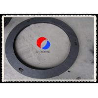 Quality Black Rayon Based Rigid Graphite Felt Gasket Plate Fireproof For Vacuum Furnaces for sale