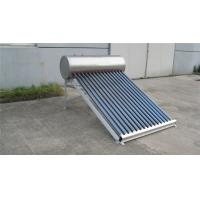 Wholesale Compact 150L Non Pressurized Solar Water Heater Heat Exchanger With Heat Pipe from china suppliers
