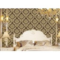 Wholesale Classical Strippable Damask Wall Covering , Luxury Home Decoration Wall Covering from china suppliers