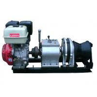Wholesale 5 Ton Fast Line Speed Gasoline Engine Winch for Power Construction from china suppliers