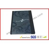Wholesale Black Drawer Luxury Gift Boxes Foil  Logo In Silver With PVC Sleeve from china suppliers