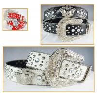 China rhinestone crown accessories belts for jeans for cowgirl on sale