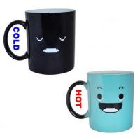 Wholesale 11oz Heat Sensitive Full Color Changing Magic Mug V Shape Eco - Friendly from china suppliers