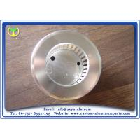 Quality Custom Cnc Milling Machine Parts Free Size Aluminum Lampshade With Aluminum Extrusion for sale