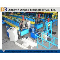Quality Three - Phrase High Speed Rain Gutter Roll Forming Machine One Year Guarantee for sale