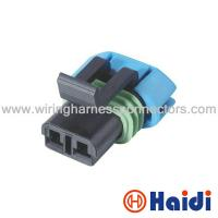 Wholesale Female GM Delphi Automotive Wiring Harness Connectors 2 Pin Wire Plug 15300027 from china suppliers