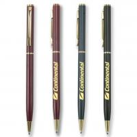 Wholesale brass material continental hotel pen, continental metal pen for continental hotel use from china suppliers