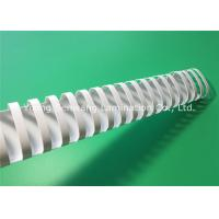 Wholesale Eco - Friendly 45mm Binding Plastic Comb / White Binding Combs For A4 Size Books from china suppliers