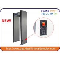 Wholesale high sensitivity infrared airport Metal Detector gate , walk through metal detector for security from china suppliers