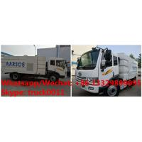 Wholesale customized YIQI FAW brand 4*2 RHD diesel road sweeping truck for sale, Factory wholesale price  street sweeper from china suppliers