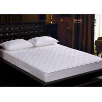 Wholesale Diamond Box Pattern Hotel Mattress Protector Thick With GTT / SASO from china suppliers
