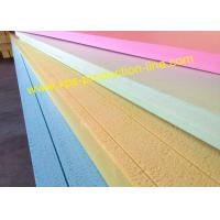 Wholesale Yellow / Blue / Green / Pink Styrofoam Insulation Sheets With Waterproof Package from china suppliers