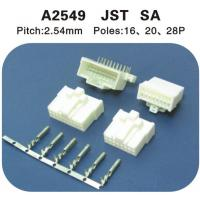 Wholesale JST SA alternate 2.54mm Pitch housing plug and crimp terminal connectors,with lock from china suppliers