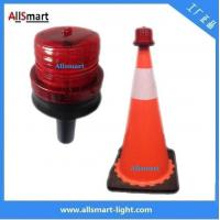 Wholesale 4LED Sensor Lighting Road Barricade Light Solar LED Warning Light for Traffic Cone from china suppliers