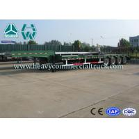 Wholesale Green HOWO 4 Axles Low Bed Semi Trailer Carbon Steel Low Bed Truck from china suppliers