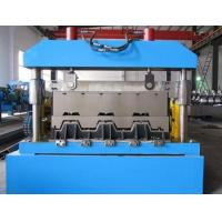 Wholesale 1.3 mm Thickness Galvanized Floor Deck Roll Forming Machine Shearing Cutting from china suppliers