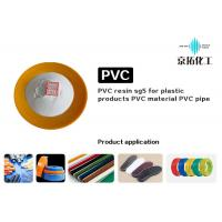 China Sg5 White Soft PVC Resin K Value 65-67 For Rigid Pipes SG3 High Ectrical Insulation on sale