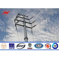 Wholesale Hot dip galvanization electrical power pole for over headline project from china suppliers