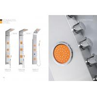 Wholesale Professional Stainless Steel Shower Panel With Adjustable Orange Massage Jets from china suppliers