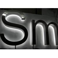Wholesale Custom 3D LED Backlit Sign Letters Lighted Business Signs Signboard Waterproof from china suppliers